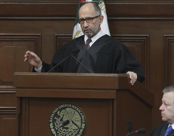 Impunidad en México rezaga acceso real a la justicia: Presidente de la SCJN