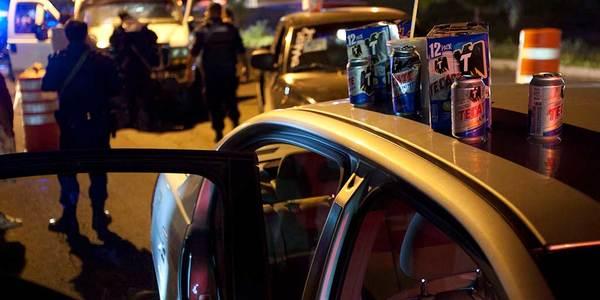 Atropellan a tres policías en operativo alcoholímetro