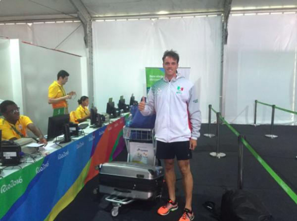 Llega el primer atleta mexicano a Río