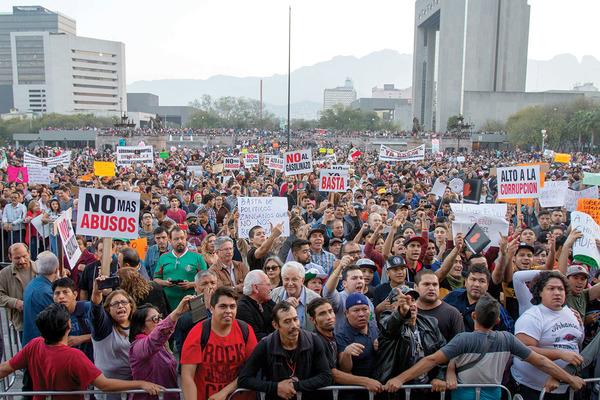 La avalancha inflacionaria  estremece a México