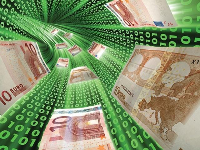 El dinero en la curvatura de las redes de información