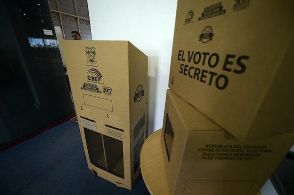 Cierra la campaña electoral más atípica de Ecuador