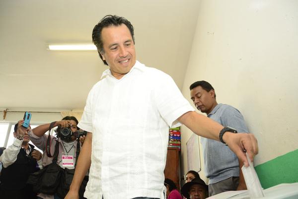 Oposición encabeza elección en Veracruz