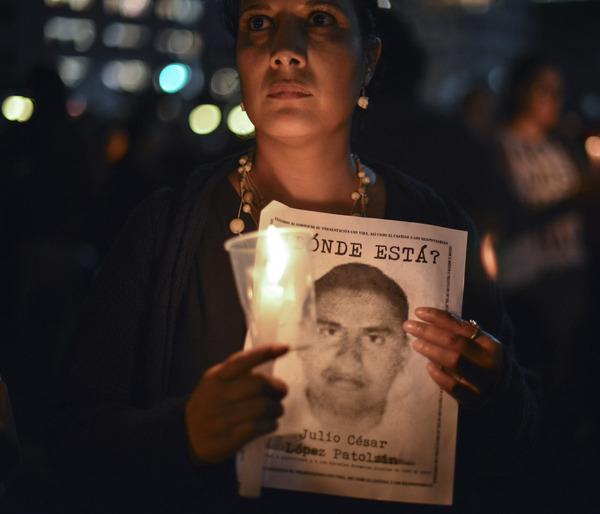 Gobiernos de Egipto, Siria y México usan desapariciones forzadas