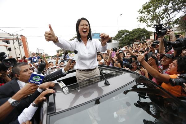 "Espera a Keiko Fujimori segunda vuelta ""polarizada"" en Perú"