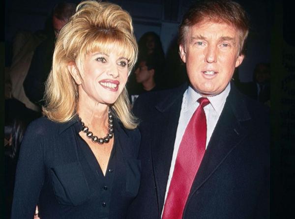 Ivana Trump quedó embarazada tres veces mientras usaba un DIU