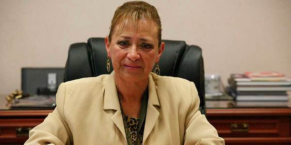 Votarán diputados sobre remoción de Miriam Ozumbilla