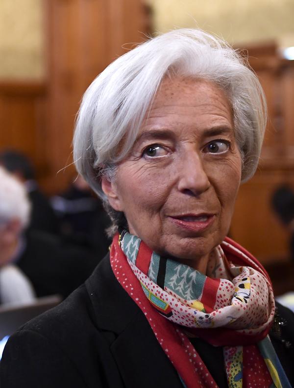 """Lagarde, culpable de """"negligencia""""… pero exenta de pena"""