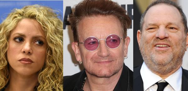"""Estas celebridades figuran en los """"Paradise Papers"""""""