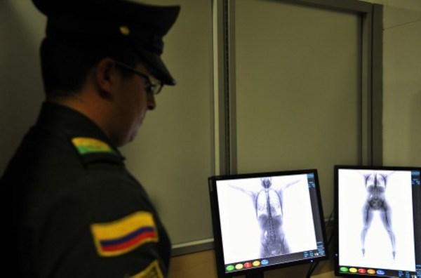 Un escáner que no 'desnuda' al pasajero
