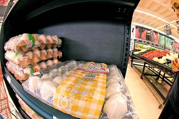 Se mantiene precio de huevo hasta en $44 en almacenes de Puebla