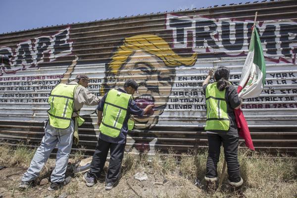 ¿Construirá Trump su muro fronterizo?