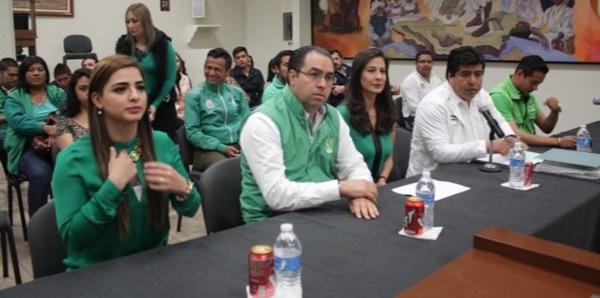 El PVEM registró a doce candidatos