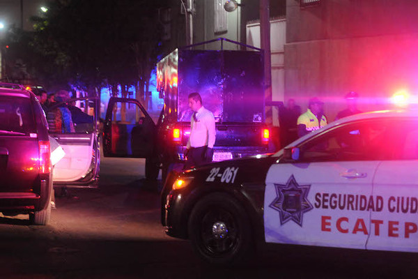 Ecatepec: asesinan a 5 policías cuando acudian a emergencia