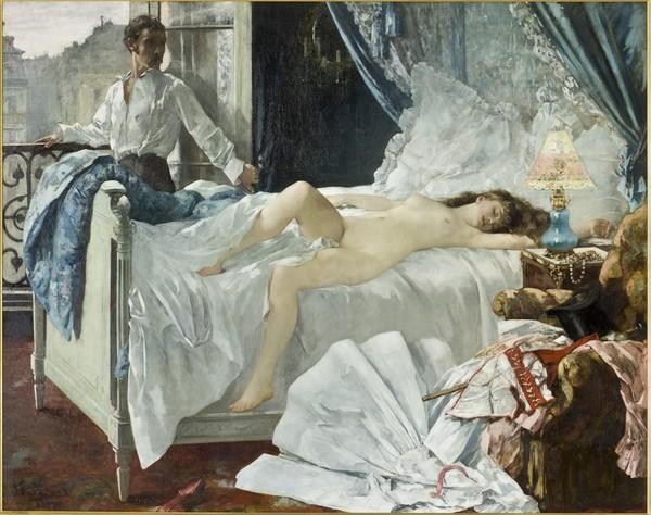 Prostitución en museo de París