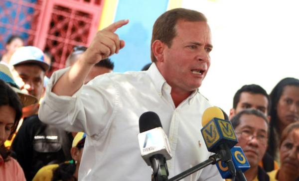 Declaran vacante gubernatura de opositor venezolano