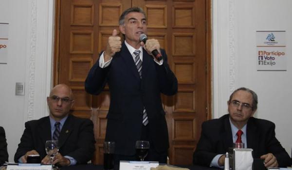 Trato equitativo para empresas poblanas, pide Coparmex a Gali Fayad