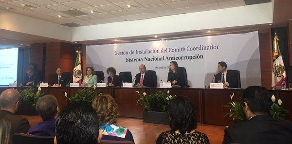 Nace acéfalo Sistema Anticorrupción de México
