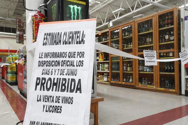 "Negocios que incumplan con la ""ley seca"" serán clausurados"