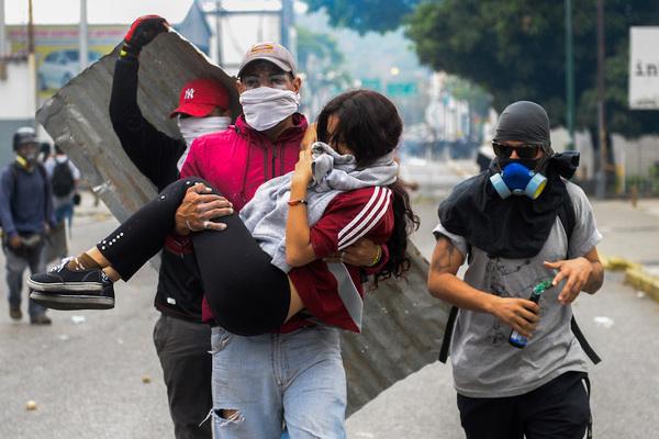 CIDH exige a Maduro proteger a manifestantes