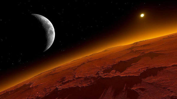 ¿El hombre en Marte? Las miradas están sobre Trump