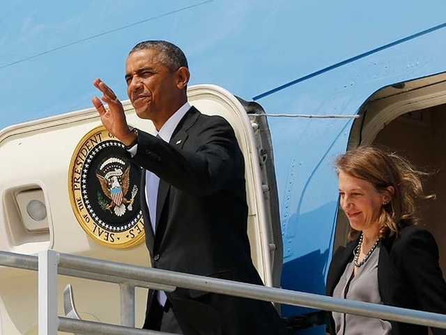 Obama y hombre armado compartieron ascensor
