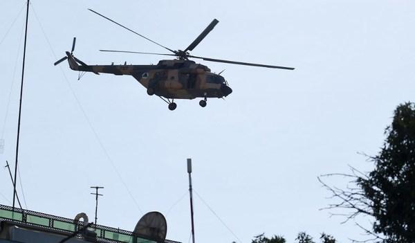 Cohete impacta zona diplomática de Kabul