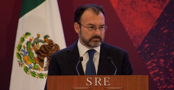 """México impondrá aranceles si EE.UU. le """"obliga"""" a pagar el muro: Videgaray"""