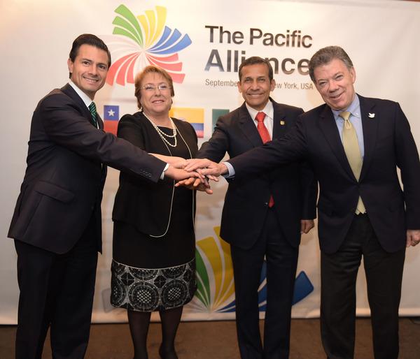 Llega EPN a Chile para Cumbre de la Alianza del Pacífico