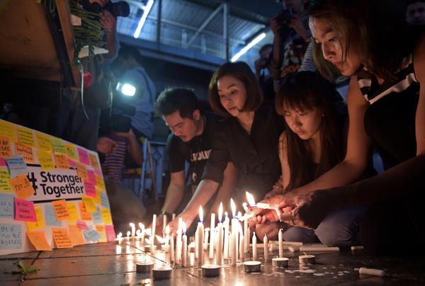 Buscan a atacante que mató a 20 personas en Bangkok