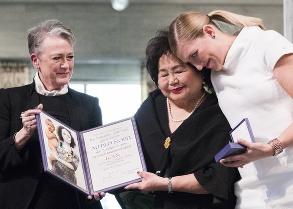Antinucleares reciben el Nobel de la Paz en contexto de crisis