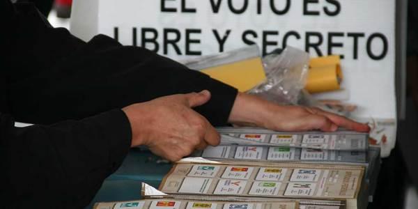 Más de 2 millones de hidalguenses acuden hoy a votar