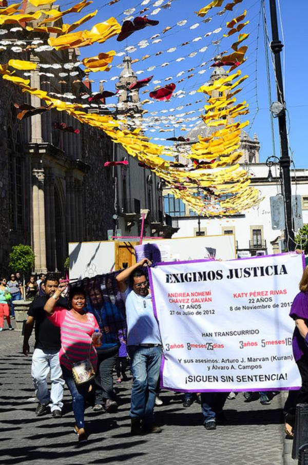 Retrasan sentencia en homicidios de Andrea Nohemí y Kathy Pérez
